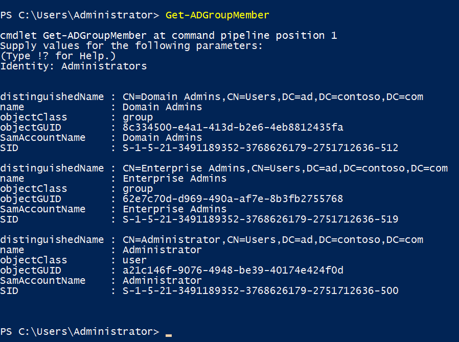 Export Members of a Particular Active Directory Group Using PowerShell