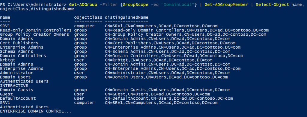Export Members of a Particular Active Directory Group Using